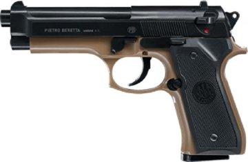 Beretta M92 FS Softair – Battle Kit mit Zielscheiben und Munition (Umarex-25995-M92) - 1