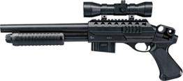 Combat Zone Airsoft Gewehr SGS-I, Schwarz, One Size, WA25663 - 1