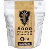 ELITE FORCE PREMIUM BIO BB Softairkugeln weiß 6mm 0,20g 5000 BBs - 1