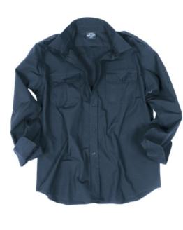 Feldhemd Ripstop dunkelblau L - 1