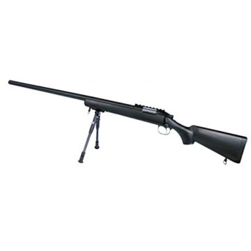 G8DS® Softair SNIPER Scharfschützen Gewehr Black Eagle M6 Sniper Mit Metallteilen unter 0,5 Joule 6mm - 1