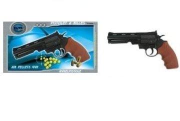 G8DS® Sport Softair Pistole Revolver 0,5 Joule ab 14 Jahren freigegeben 6mm - 1