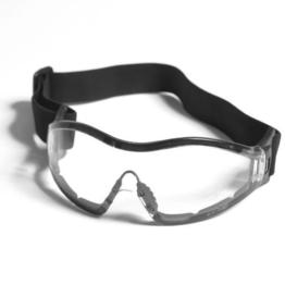 G8DS® Sportbrille PARA in klar und Smoke Softair Schiess- und Outdoorbrille Armee Arbeitsschutzbrille Schutzbrille (Klar) - 1