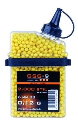 GSG Softair BBs HFC 0.12 g Kal. 6 mm 2.000 Stück gelb, 200037 - 1