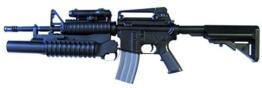 GSG Softair Gewehr M4 mit Grenade Launcher, 201692 - 1