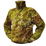 Half-Zip Fleece Jumper Camouflage Design M  – camouflage - 1