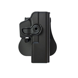 IMI POLYMER GLOCK HOLSTER 17/22/28/31 RIGHT HANDED BLACK IMI-Z1010 AIRSOFT - 1