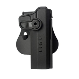 IMI RETENTION POLYMER R/HAND BLACK ROTO HOLSTER FOR 1911 VARIANTS IMI-Z1030 - 1