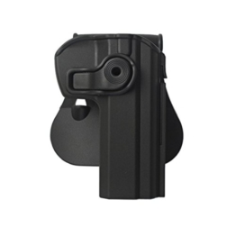 IMI-Z1330 RETENTION HOLSTER CZ75 COMPACT BLACK RIGHT HANDED - 1