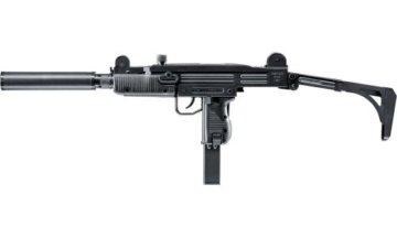 IWI UZI SMG Softair inkl. Schalldämpfer 6mm BB schwarz - 1