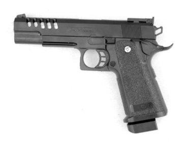 Kugelpistole 24cm mit Magazin und Munition – Schwere Ausführung – ab 14 Jahren - 1