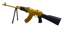 MK 47 Softair Sturmgewehr in Gold Tarnung! - 1