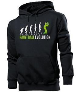 PAINTBALL EVOLUTION 538(HKP-SW-Weiss-Grün) Gr. XXL - 1