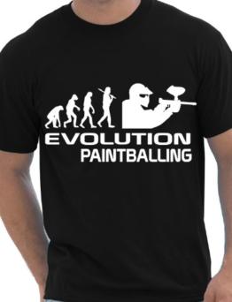 – Paintball Softair Gotcha Evolution Herren T-Shirt S-XXL - 1