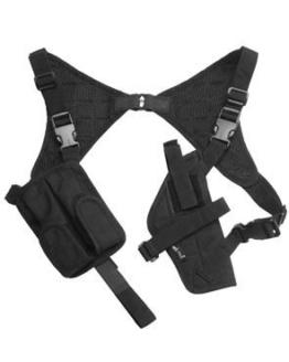 Schulterholster Codura schwarz Schwarz - 1