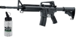 SET: Softair Oberland Arms OA-15 M4 RIS AEG max. 0,5 Joule 6mm + G8DS® Softair Munition BIO BBs Premium Selection 2000 Stück 0,20 g 6mm - 1