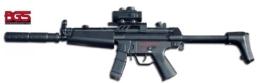 Softair Gewehr Elektrisch & Vollautomatisches Maschinengewehr mit Akku!! BGS-CM023 SOFORT LIEFERBAR! - 1