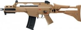 Softair Gewehr Heckler & Koch G36 C IDZ FDE 0,5 Joule, elektrisch AEG, Kal. 6 mm + G8DS® Aufkleber - 1