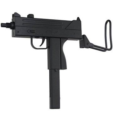 Softair Maschinenpistole in schwarz 23cm Länge - 1