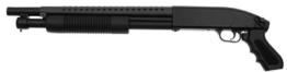 Softair PUMPGUN METALL inklusive Speedloader und Trageriemen unter 0,5 Joule 6mm NEUHEIT 2014 7346 + G8DS® Aufkleber - 1