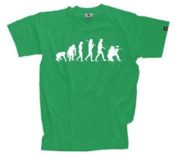 T-Shirt Kelly XXXL Paintball Gotcha Softair Evolution - 1