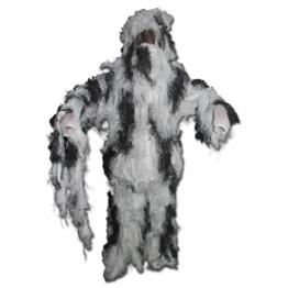 Tarnanzug Ghillie Suit schneetarn XL,Tarnfarbe, Schneetarn - 1