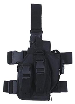 Universal Pistolenbeinholster rechts schwarz - 1