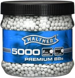Walther Softairkugeln BB, Weiß, 5000 - 1